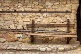 Village Bench — Stock Photo
