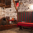 Traditional Wine Cellar - Stock Photo