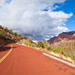 Kolob Canyons Scenic Drive — Stock Photo
