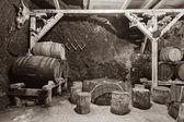 Winery Cellar — Stockfoto