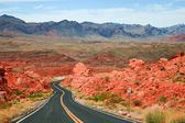 Valley of Fire Scenic Drive — Стоковое фото