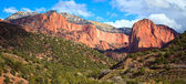 Kolob Canyons Panorama — Stock Photo