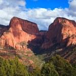 Nagunt Mesa and Timber Top Mountain — Stock Photo #4472033