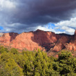 Dramatic Sky over Kolob Canyons — Stock Photo