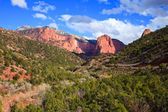 Kolob Canyons Landscape — Stock Photo