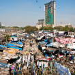 blanchisserie de Dhobi ghat — Photo