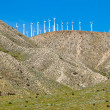 Wind Turbines on a Hill — Photo