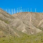 Wind Turbines on a Hill — Stock Photo #5318476