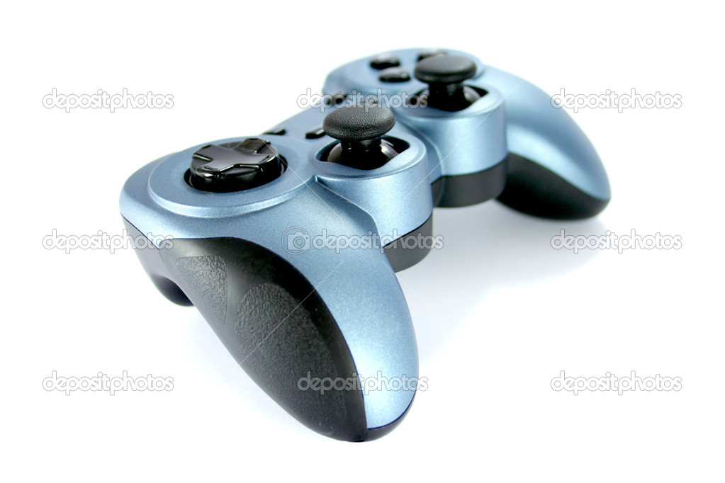 A gamepad isolated on white  Stock Photo #4113297