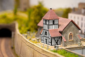 Church miniature — Stock Photo