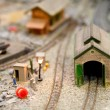 Miniature models — Stock Photo