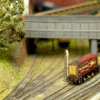 Royalty-Free Stock Photo: Model train