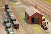 Train set freight — Stock Photo