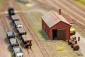 Train set freight — Zdjęcie stockowe