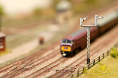 Señales de tren — Foto de Stock