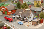 Model village — Stock Photo