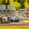 Stock Photo: Cement silos