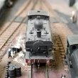 Model steam train — Stock Photo #4072026