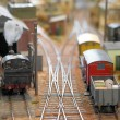Model freight yard — Stock Photo