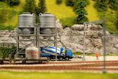 Cement silos — Stock Photo
