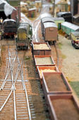 Freight yard — Stock Photo