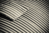 Corrugated roofing — Stock Photo