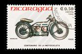 Douglas Motorcycle — Stock Photo
