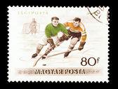 Hockey sobre hielo — Foto de Stock