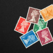 Stock Photo: British stamps