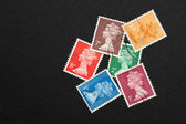 British stamps — Stock Photo