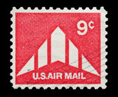 U.S Air Mail — Stock Photo