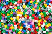 Colored beads — Stock Photo