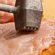 Royalty-Free Stock Photo: Making chop
