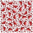 Valentine's day hearts background - Stock fotografie
