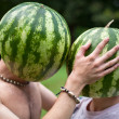 Royalty-Free Stock Photo: Watermelons love
