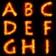 Fiery Font - Photo
