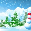 Winter Christmas — Stock Vector #4167954