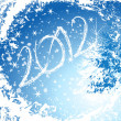 Royalty-Free Stock Imagen vectorial: 2012 Happy New Year greeting card