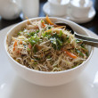 Asian fried rice noodle — Stock Photo