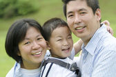 Asian family — Stockfoto