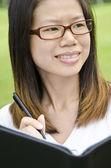 Asiatisk tjej — Stockfoto
