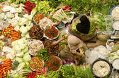 Traditional makarket — Stock Photo