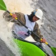 freestyle on whitewater — Stock Photo #3963894