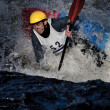 Whitewater freestyle — Stock Photo