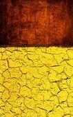 Texture grunge jaune rouge — Photo