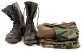 Military uniforms — Stock Photo