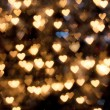Royalty-Free Stock Photo: Defocused hearts