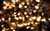 Defocused hearts — Stock Photo