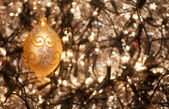 Baubles and Holly — Stock Photo