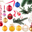Stock Photo: Baubles collection